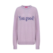Load image into Gallery viewer, LILAC YOU GOOD SWEATER