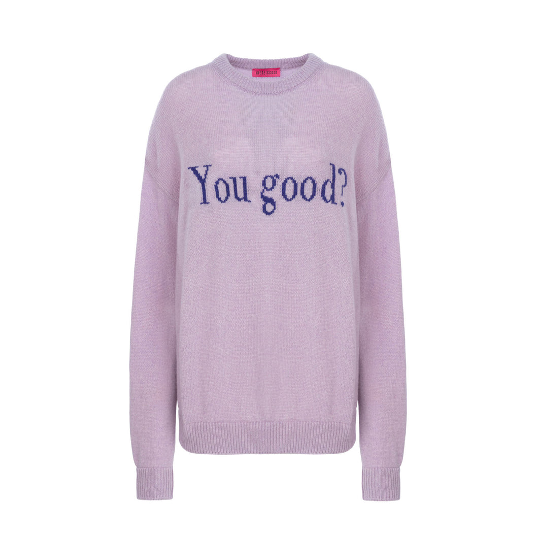 LILAC YOU GOOD SWEATER