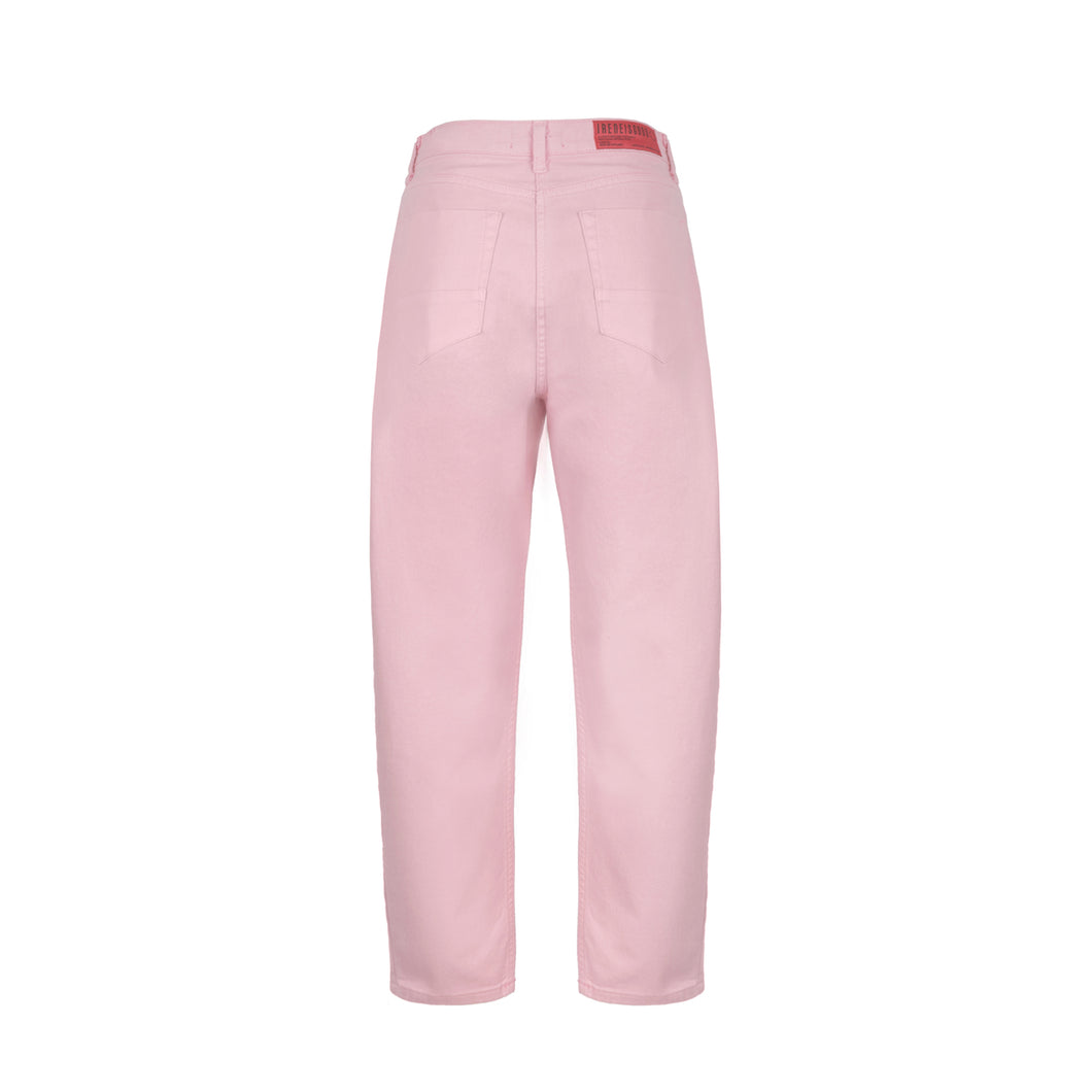 PINK DENIM PANTS