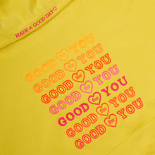 Load image into Gallery viewer, YELLOW GOODFORYOU HOODIE