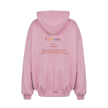 Load image into Gallery viewer, PINK SAVETHEUNICORN HOODIE