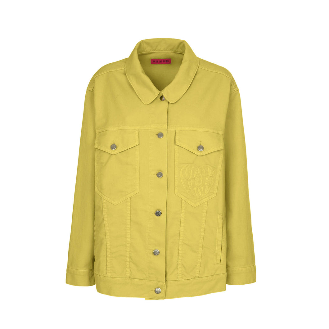 YELLOW DENIM JACKET