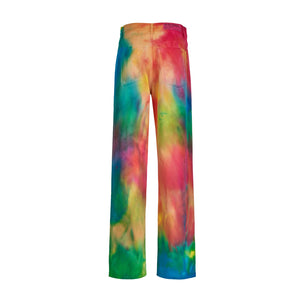 RAINBOW DENIM PANTS