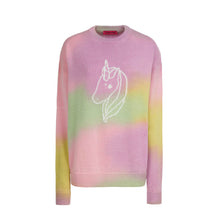 Load image into Gallery viewer, RAINBOW DEGRADE UNICORN SWEATER