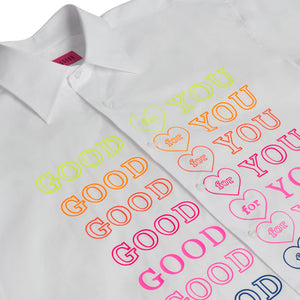 WHITE GOODFY SHIRT
