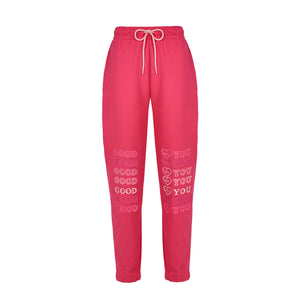FUXIA GOODFY SWEATPANTS