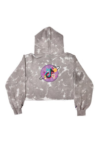 GREY GOOD PLANET HOODIE
