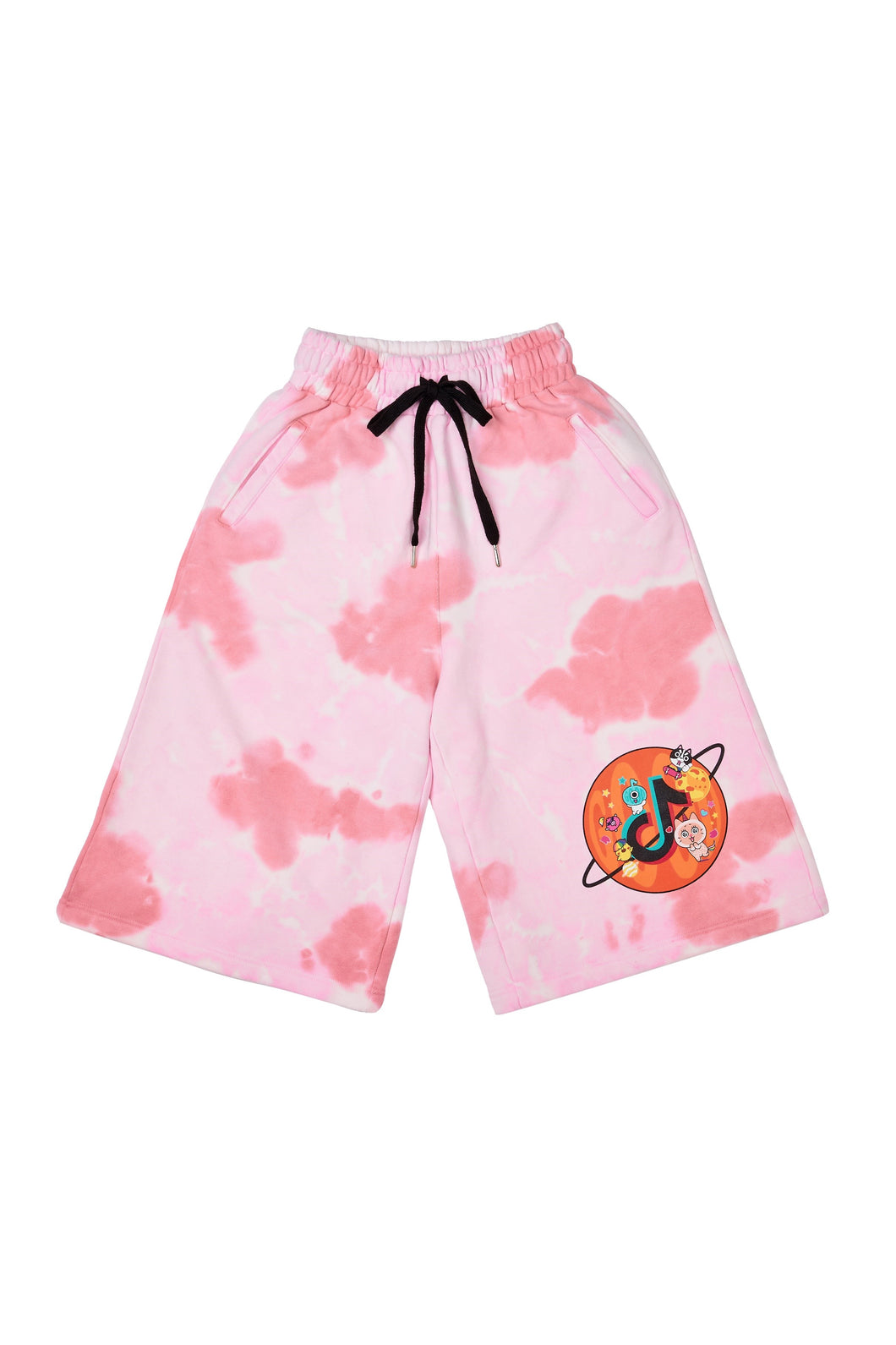 PINK GOOD PLANET SWEATSHORTS