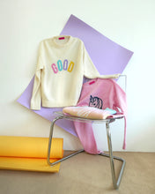 Load image into Gallery viewer, PINK LOGO SWEATER