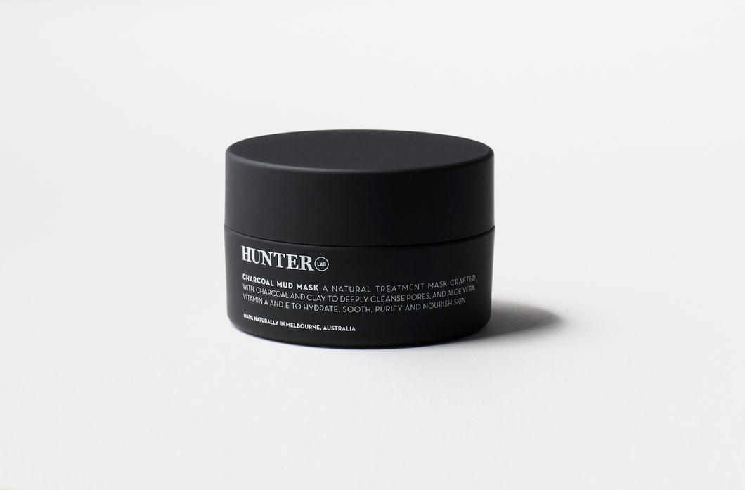 HUNTER Lab Charcoal Mud Mask 65 g