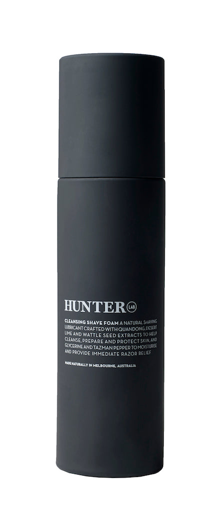 HUNTER LAB Cleanisng Shave Foam