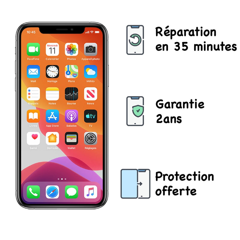 Réparation iPhone X - Smartel
