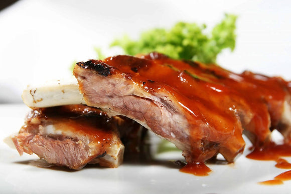 Smoked pork ribs 450 g