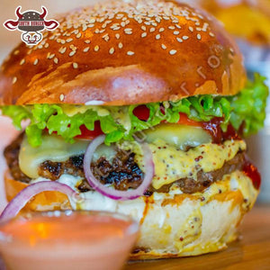 French burger 435gr