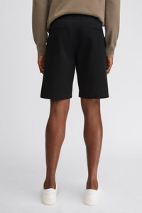 Terry Cotton Shorts Black