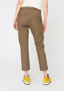 Krissy Edit Trousers Brown Check