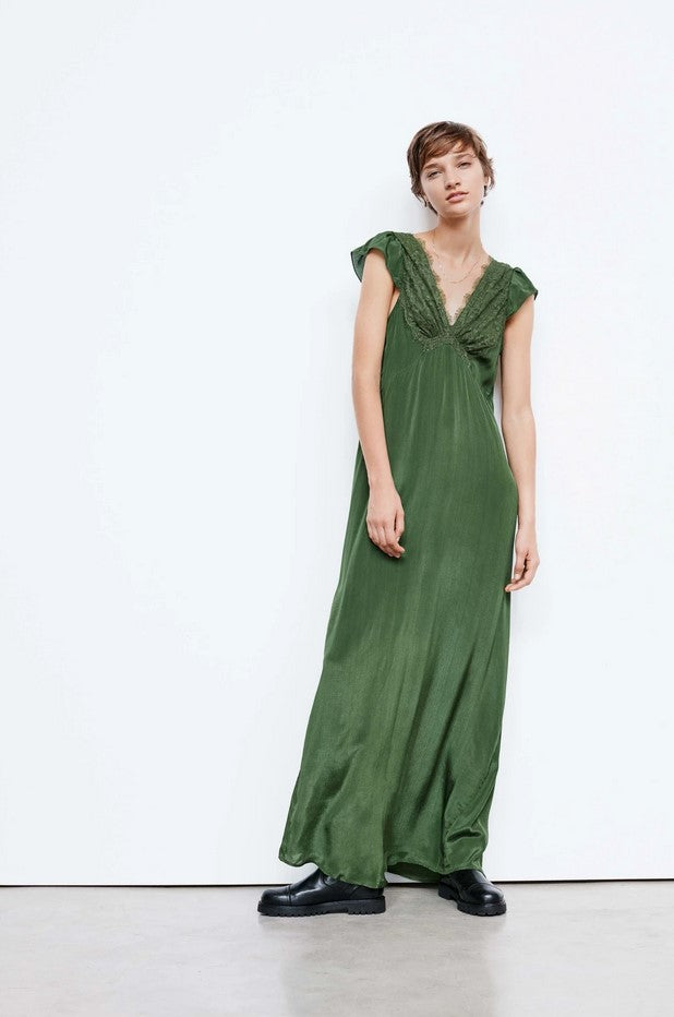 Lanna Dress Green