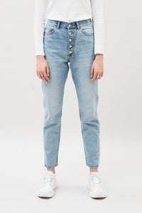 Nora Jeans Length 30- Downtown blue