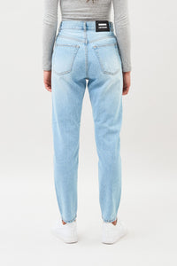 Nora Jeans Length 30- Light Summer Ripped