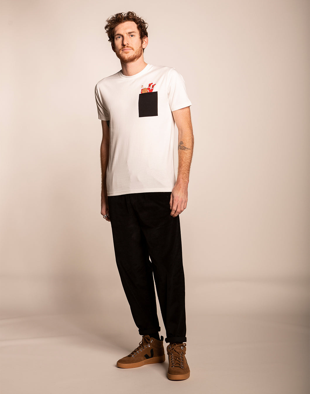 Coin-Coin Tee Off-White