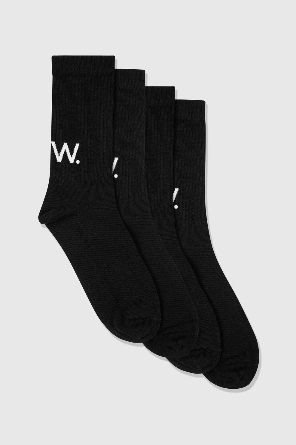Gail 2-pack socks black