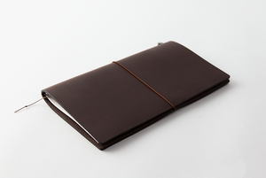 Traveler's Notebook Leather Brown