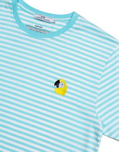 Laden Sie das Bild in den Galerie-Viewer, PEROQUET t-shirt blue stripes