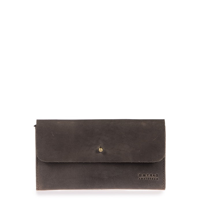 Pixies Pouch Dark Brown Hunter Leather