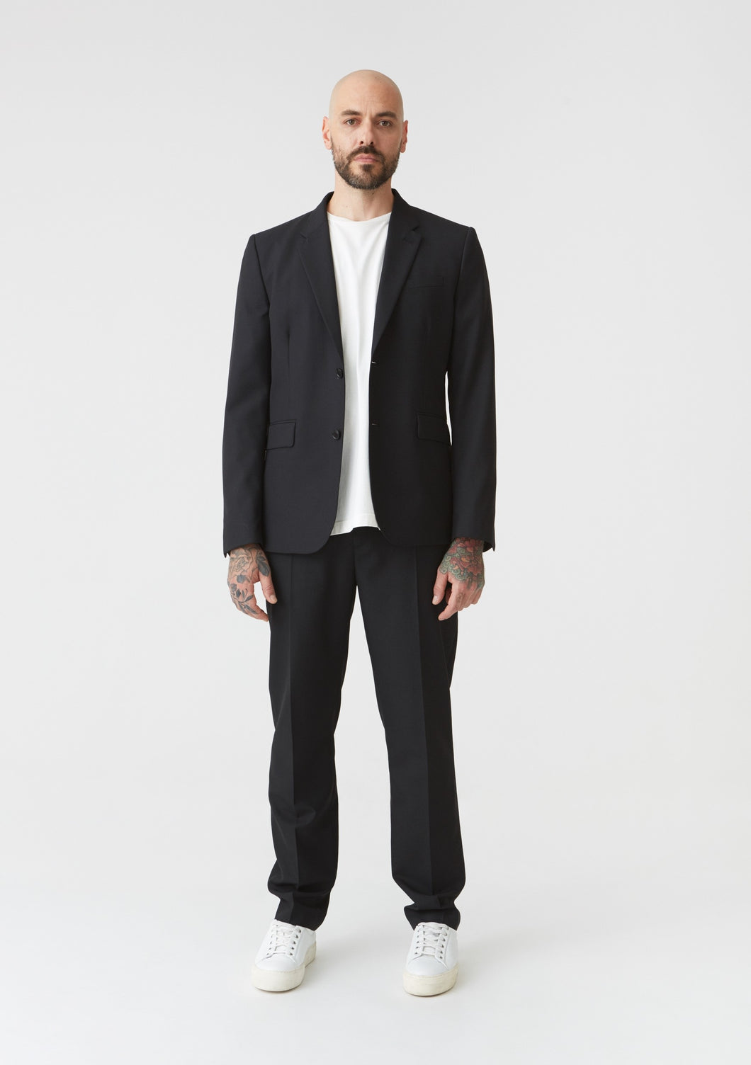 Shot Blazer Black Suit