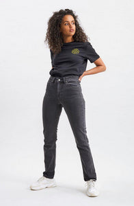 Stevie Jeans Length 30 - Black Fog