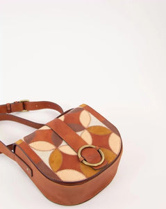 TESSAO PATCH Bag Natural tan