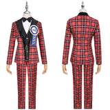 Ace Costume Red Uniform Game Twisted-Wonderland Ghost Marriage Cosplay for Halloween Carnival Convention