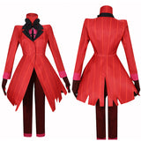 Alastor Costume Anime Hazbin Hotel Cosplay for Halloween Carnival Convention