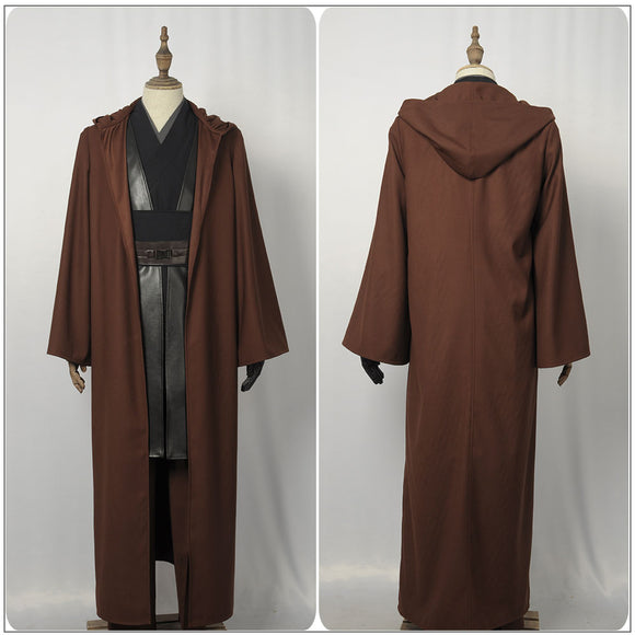 Anakin Skywalker Darth Vader Costume Jedi Knight Battleframe Movie Star Wars Cosplay for Halloween Carnival Convention