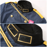 Aohitsugi Nemu Costume Navy Military Uniform Game Hypnosis Mic Division Rap Battle Cosplay for Halloween Carnival Convention