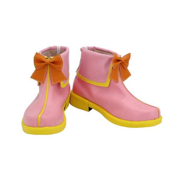Aqours Takami Chika MF Activity Shoes Boots Game LoveLive Sunshine Cosplay Halloween Carnival