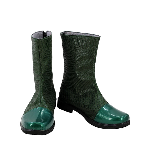Arthur Curry Shoes Boots Movie Aquaman Cosplay for Halloween Carnival Convention