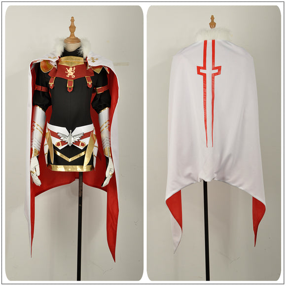 Astolfo Costume Rider Girls Dress Game Fate Apocrypha Cosplay for Halloween Carnival Convention