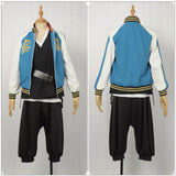 Bad Ass Temple Evil Monk Costume Game Hypnosis Mic Division Rap Battle Cosplay for Halloween Carnival Convention