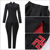 Bad Boy Costume Black Outfit Anime Tokyo Revengers Cosplay for Halloween Carnival Convention