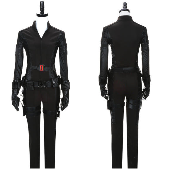 Black Widow Natasha Romanoff Costume Movie Captain America 3 : Civil War Cosplay for Halloween Carnival Convention