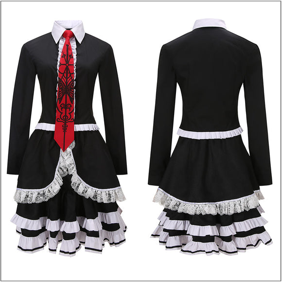 Celestia Ludenberg Costume Sailor Suit Game Danganronpa Cosplay for Halloween Carnival Convention