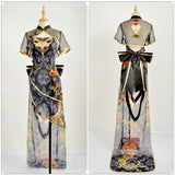 Diva Luo Tianyi Costume TDA Cheongsam Fancy Dress Vocaloid Cos Project Cosplay for Halloween Carnival Convention