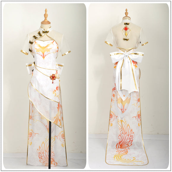 Diva Miku Costume TDA Cheongsam Fancy Dress Vocaloid Cos Project Cosplay for Halloween Carnival Convention