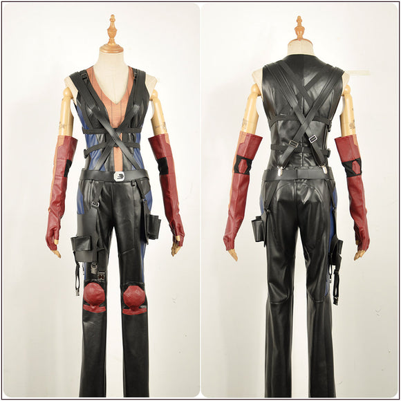 Domino Costume Battleframe Movie Deadpool 2 Cosplay for Halloween Carnival Convention