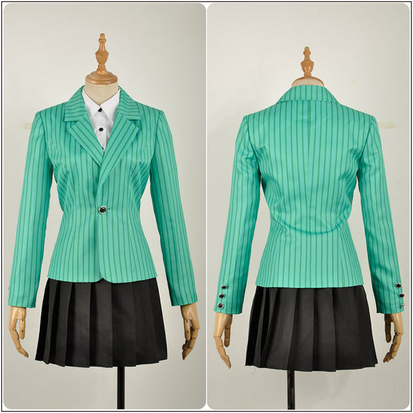 Duke Costume Green Stage Dress Rock Musical Heathers Cosplay for Halloween Carnival Convention