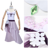 Emilia Costume Swimsuit Anime Re:Life in a Different World from Zero Cosplay for Halloween Carnival Convention