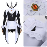 Flora Costume Maid Dress Anime Fire Emblem Cosplay for Halloween Carnival Convention
