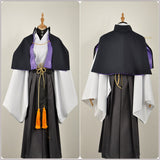 Gentaro Yumeno Costume White Kimono Game Hypnosis Mic Division Rap Battle Cosplay for Halloween Carnival Convention