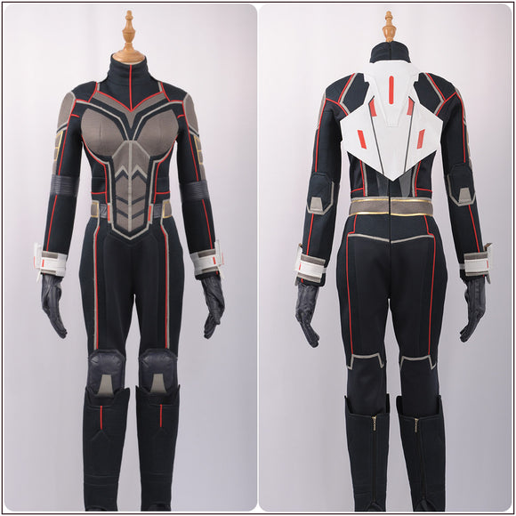 Ghost Ava Starr Costume Jumpsuit Movie Ant-Man the Wasp Cosplay for Halloween Carnival Convention